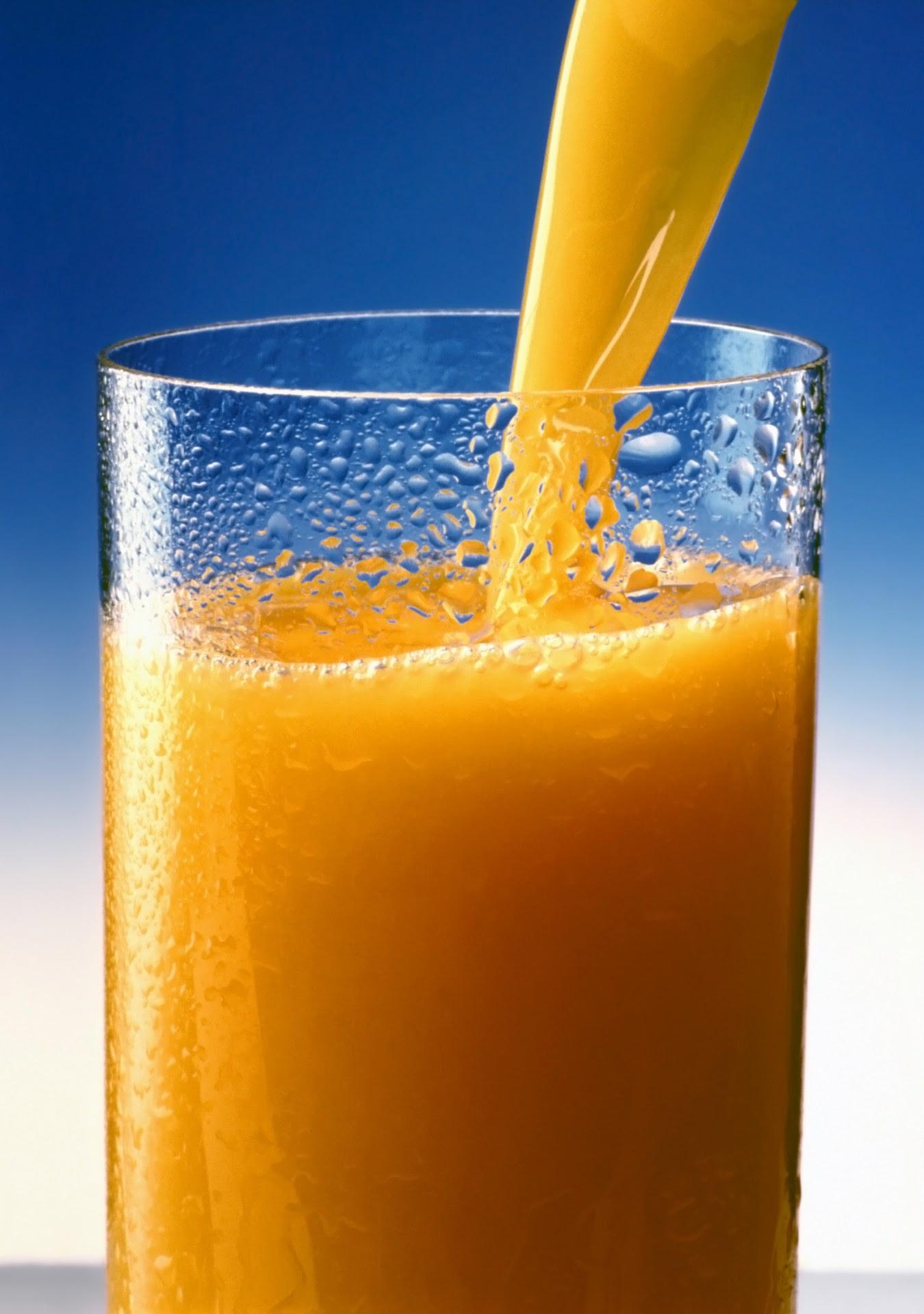 makanan sihat yang menggemukkan - jus