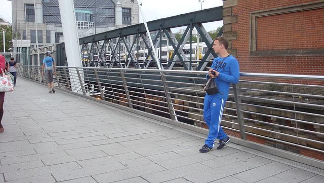 On the footbridge (2)
