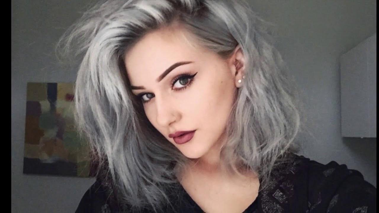 Grau Bild: Haarfarbe Die Graue Haare Kaschiert