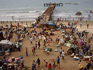 Fishmarket in Bakau