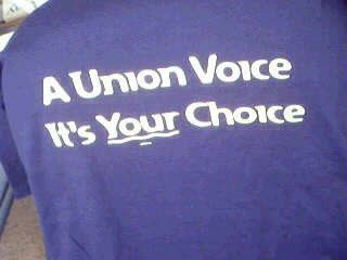A Union Voice - It's YOUR choice