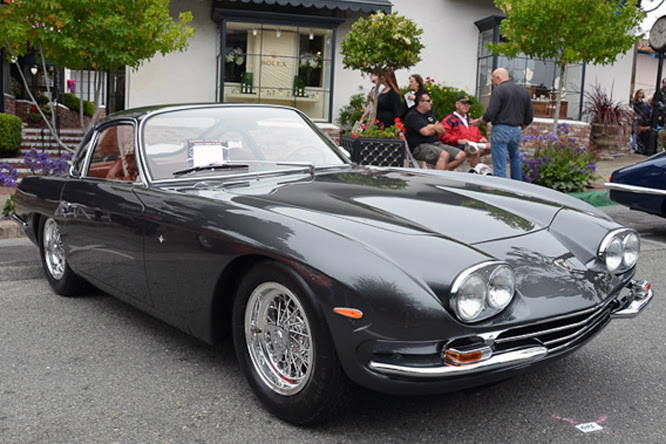 Lamborghini 400GT, 6th Annual Carmel by-the-sea Concours