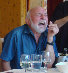 Peter laughing