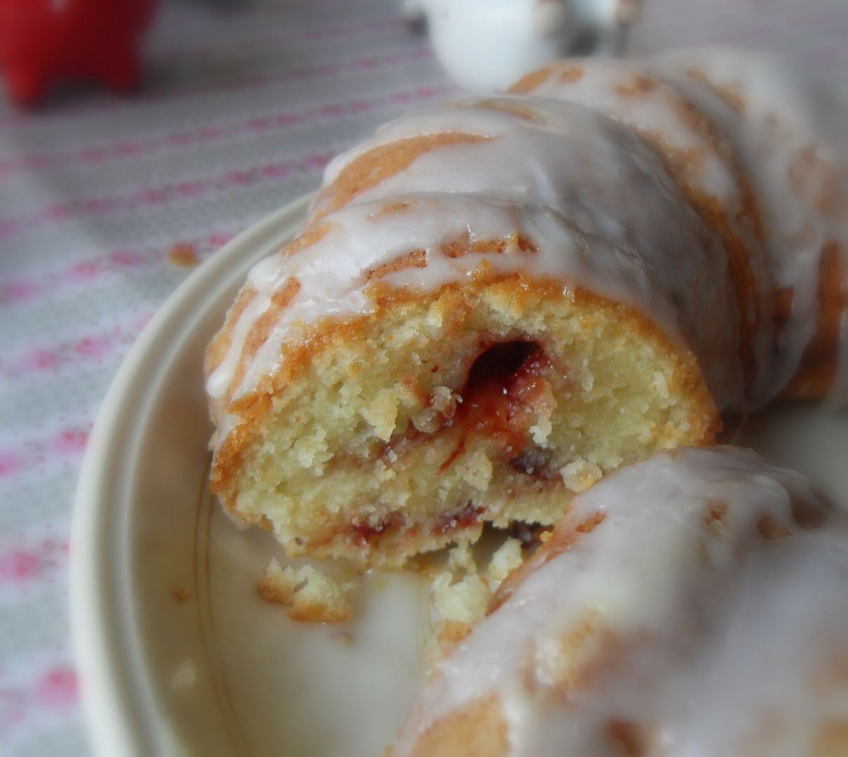 Cranberry Swirl Breakfast Cake