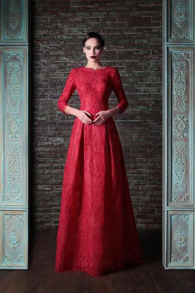 Formal evening long dresses