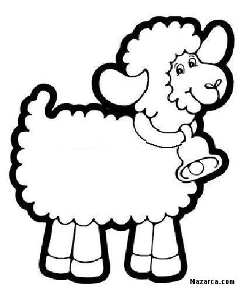 en kolay kuzu koyun boyama resimleri sayfalari nazarcacom