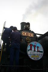 CK124與舊山線復駛headmark