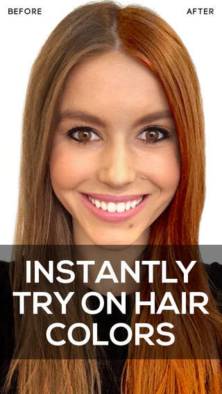 HueAltering Hair Apps : hair color app