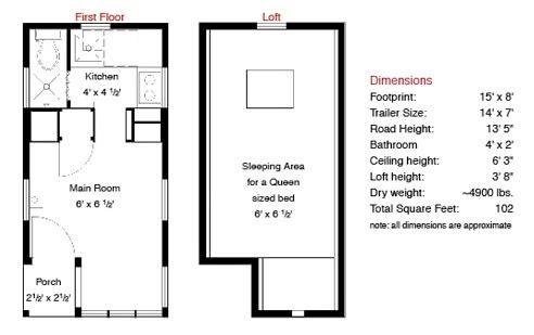 Home Interior Design Tiny Houses Plans