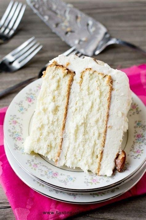 Best 25  White cake recipes ideas on Pinterest   Vanilla