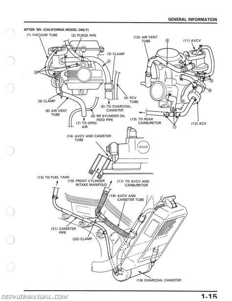 1985 - 1986 Honda VT1100C Shadow Motorcycle Service Manual