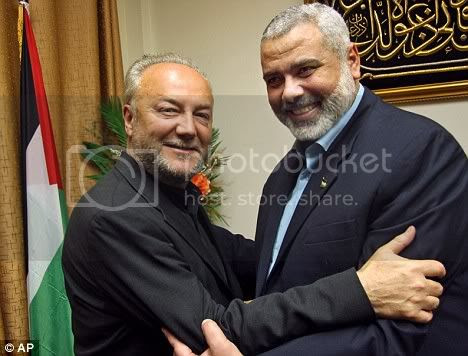 Galloway with Hamas Monster