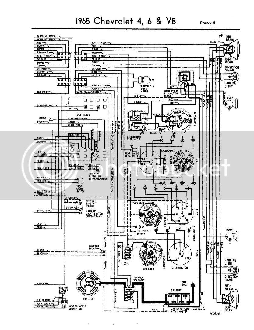 1965 Impala Wiring Diagram