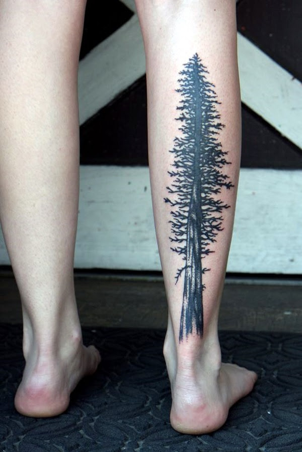Deep and Super Cool Forest Tattoo Ideas (36)