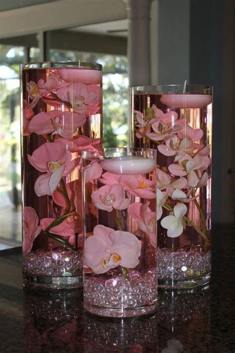 Wodnerful DIY Unique Floating Candle Centerpiece With Flower