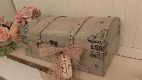 Vintage Wedding Card Box, Luggage Card Box, Shabby Chic