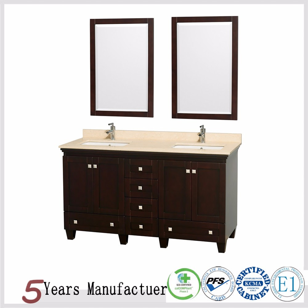 Solid Wood Floating Wall Modern Bathroom Cabinets - Buy ...