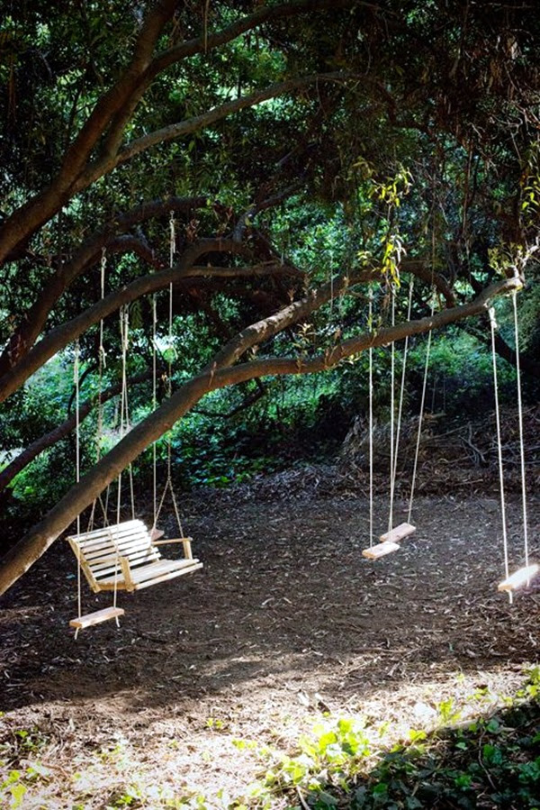 DIY Tree Swing Ideas For More Family Time (12)