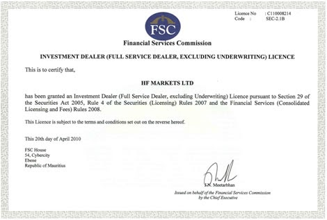 Forex trading licence in india
