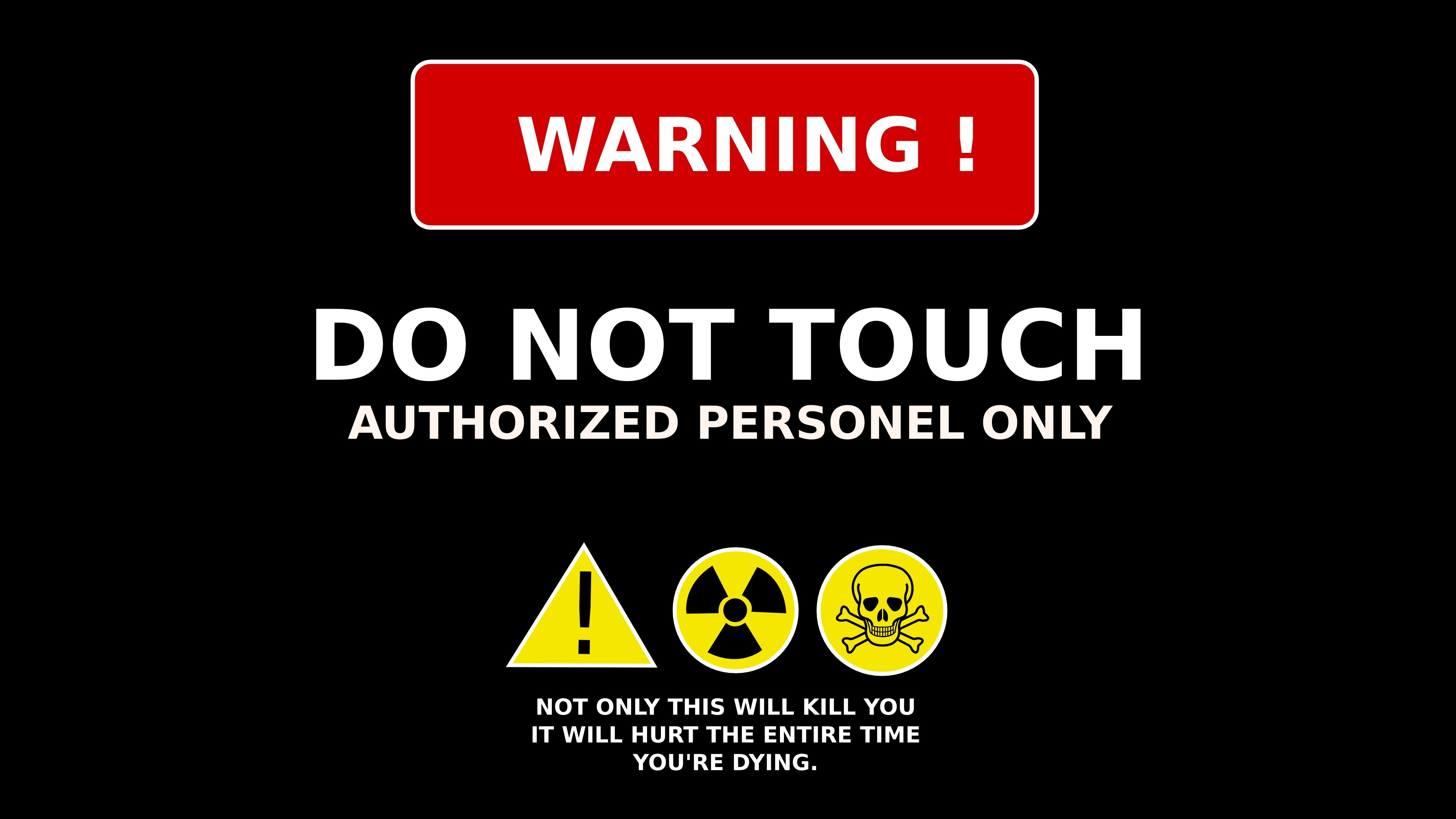 Do Not Touch Wallpaper 72 Images