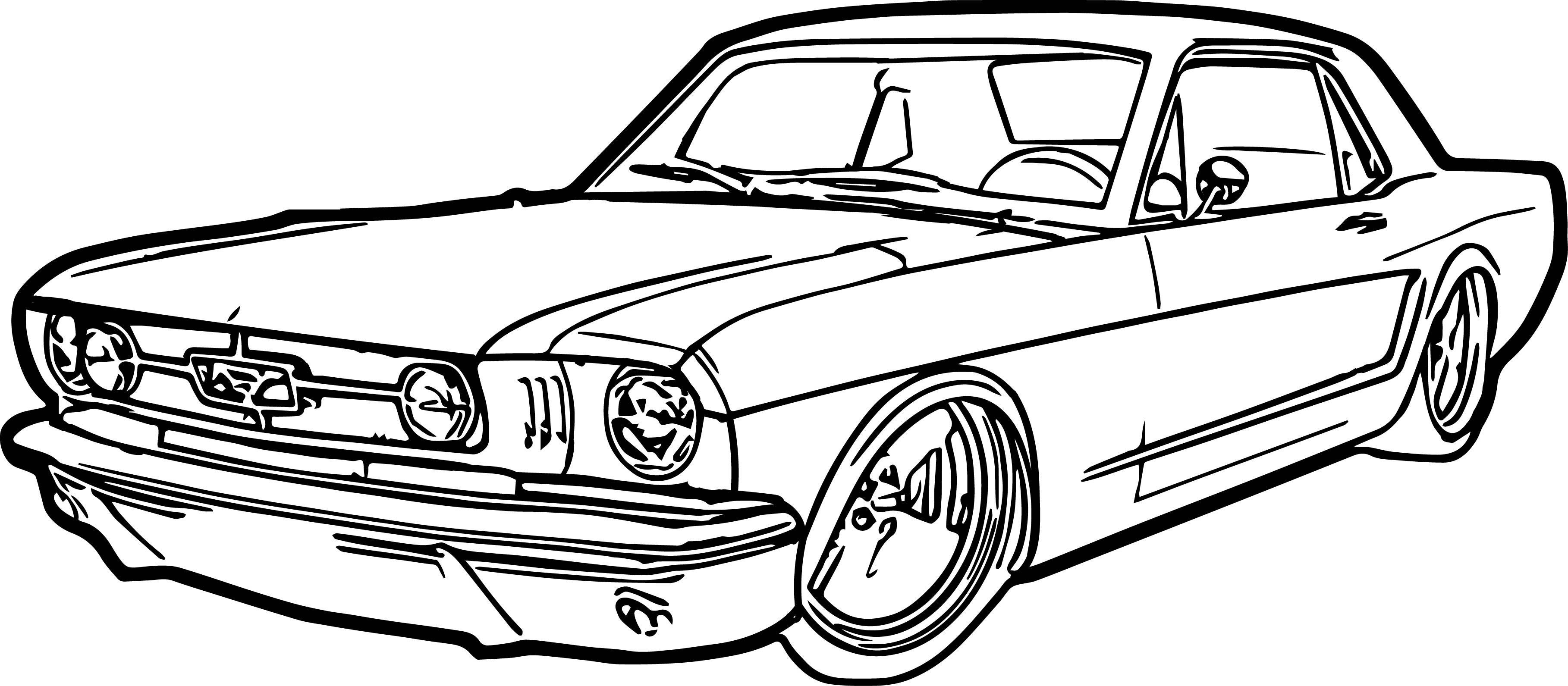 malvorlage auto zeichnen einfach