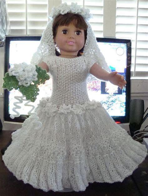 free pattern Ladyfingers   AG doll   Wedding Gown, Veil