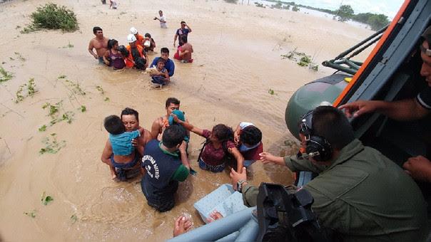 Rescates del ejército por emergencia