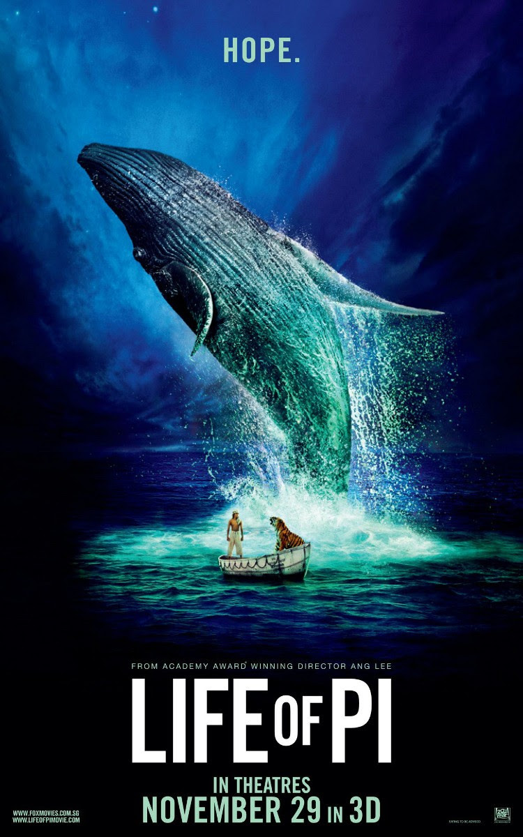 Extra Large Movie Poster Image for Life of Pi