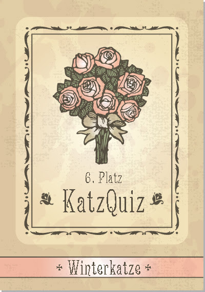 6. Platz KatzQuiz: Winterkatze