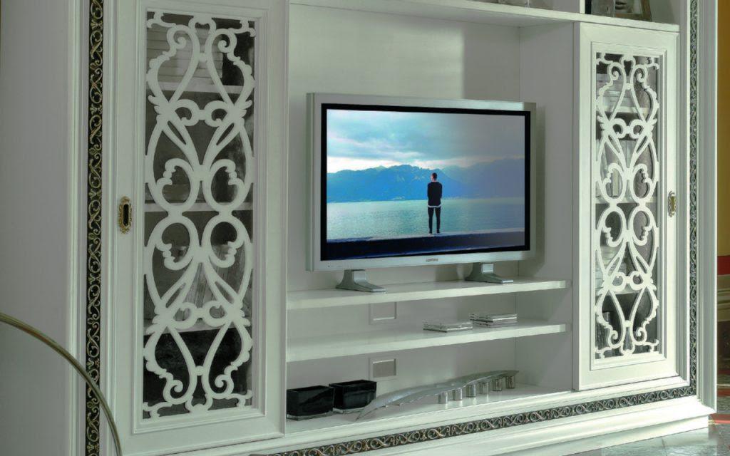 Luxury Classic Tv Wall Design