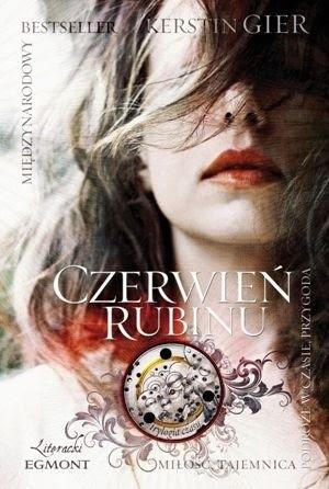 Okładka książki Czerwień rubinu