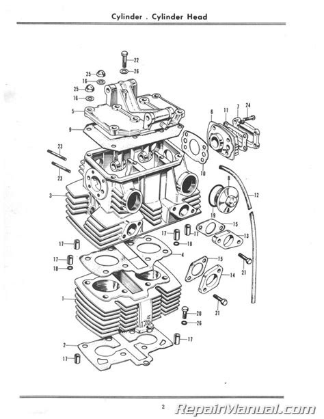 1968 - 1969 Honda CL175 (K0) Scrambler Motorcycle Parts Manual