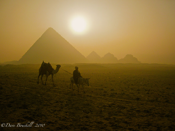 Great Sites in Africa, Pyramids of Giza