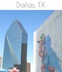 travel icon Dallas TX 125x145