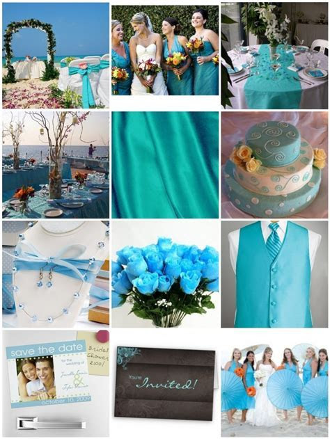 Wedding Themes   Wedding Style: A Turquoise and Lime Green