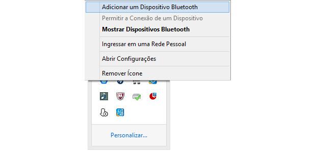 Clique na opção marcada para parear seu smartphone ao PC (Foto: Reprodução/Paulo Alves)