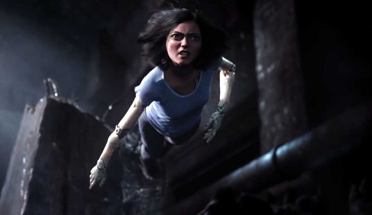 Wallpaper Alita The Battle Angel Wallpaper
