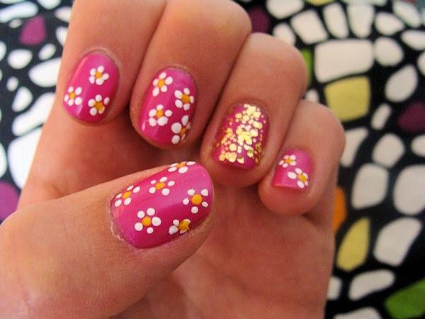 floral-dot-nails