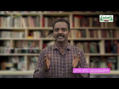 12th Geography கலாச்சாரம் மற்றும் அரசியல் புவியியல் பாடம் 5 Kalvi TV