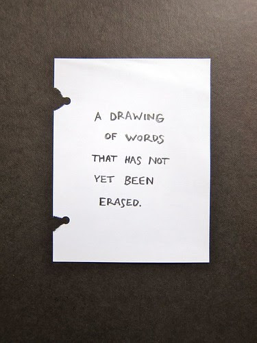 a drawing of words