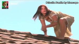 Priscila Fantin sensual na novela Alma Gêmea