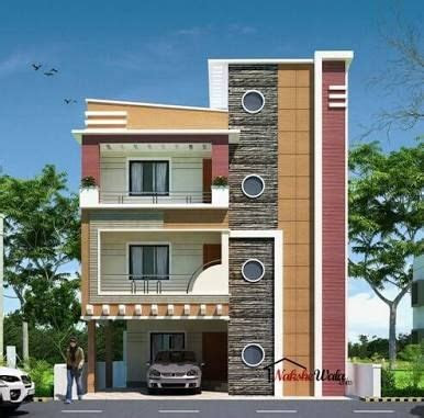 front elevation designs  duplex houses  india