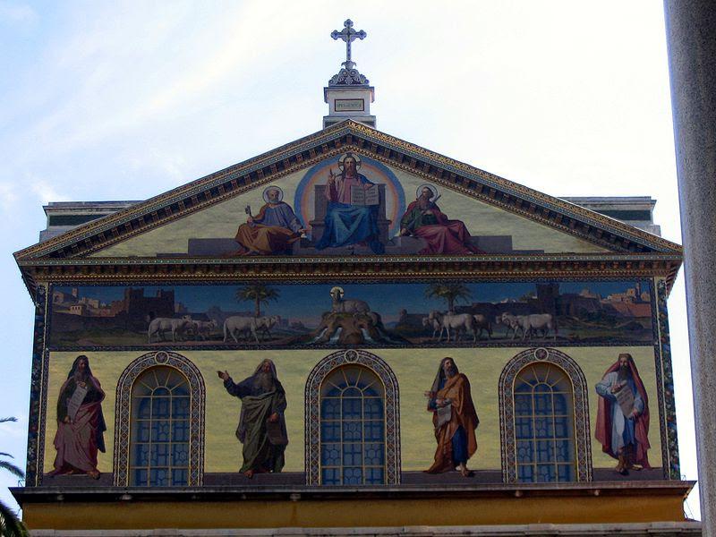 File:Roma - Basilia di San Paolo fuori le mura 2.JPG