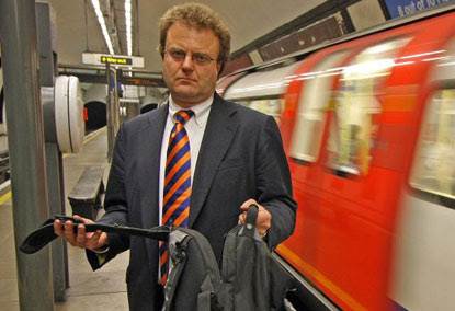Lee Roberts on the Northern Line