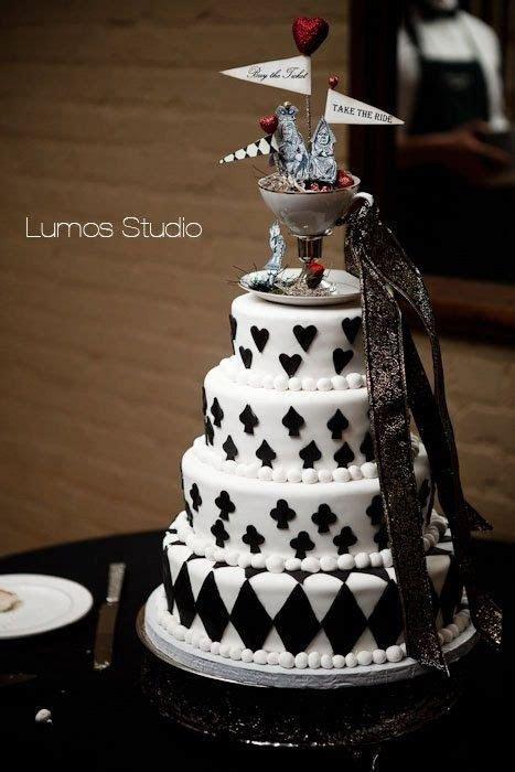 Alice in Wonderland Wedding Cake Topper by