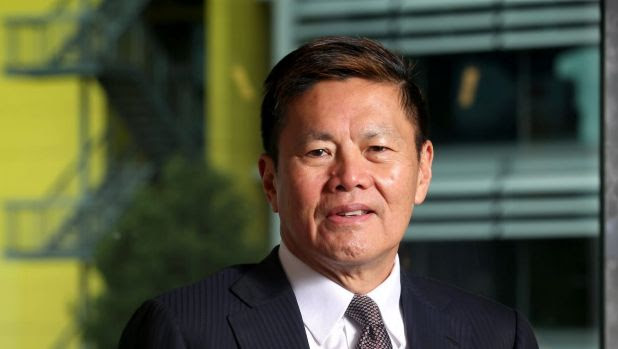 Singtel-Optus chief executive Allen Lew.