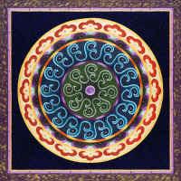 Mystic Wheels Mandala
