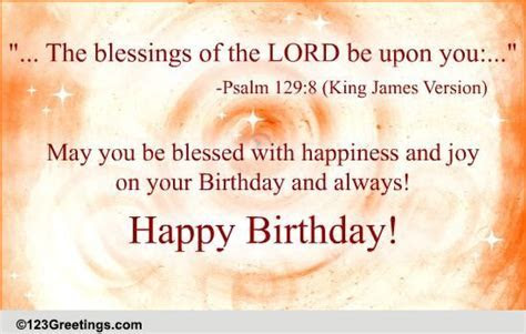 Special Birthday Blessings! Free Birthday Blessings eCards
