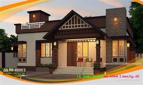 budget homes designs kerala  budget home makers