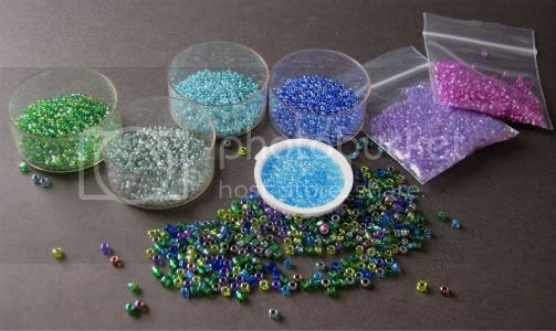 Peaceful and Diverse Beads